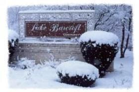 Entering Lake Barcroft Subdivison - Lake Barcroft, Virginia